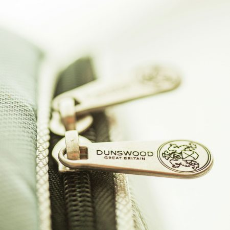 Zip detail of the Knight Cart Bag